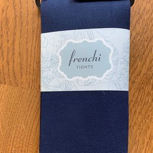 Frenchi Accessories - NWT Frenchi Blue Tights Size m/l